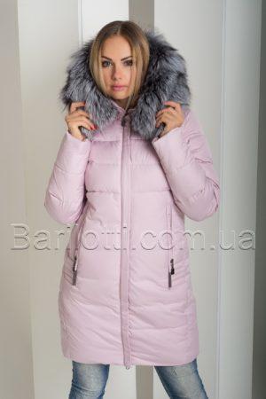 Зимний пуховик с натуральным мехом Peercat 18-630