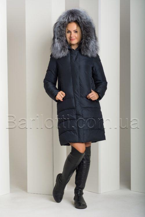 Женский пуховик с чернобуркой Peercat 18-775