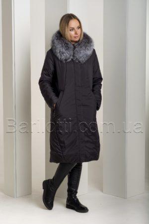 Зимнее пальто на верблюжей шерсти больших размеров Deify 531