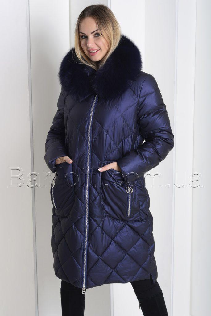 94ceb98730e Зимний пуховик из мягкой итальянской ткани больших размеров ZL.YA ...