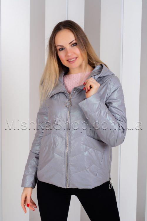 Стильная куртка из итальянской ткани ZLLY 19131