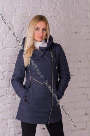 Демисезонное пальто Snow Owl 8716 (S-2XL) Синий