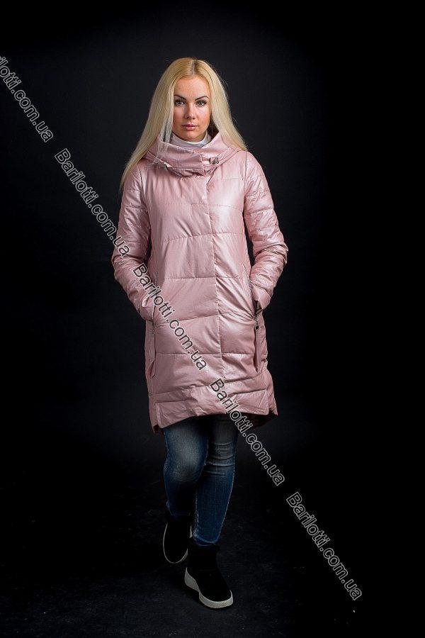 Осенняя куртка ZLYA 18163 (S-XL) Пудра
