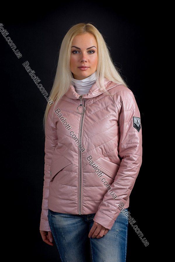 Куртка из экокожи ZLYA 18162 (S-XL) Пудра