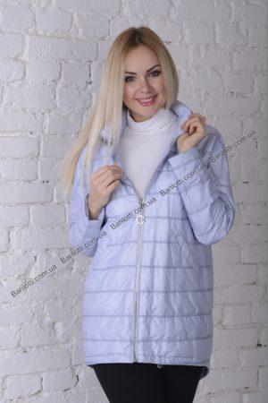 Стильная куртка ZLYA 18196 (S-XL) Голубой