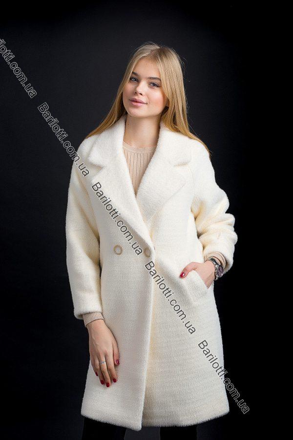 Длинное пальто 767 Молочный