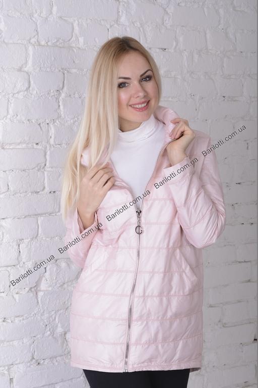 Весенняя куртка ZLYA 18196 (S-XL) Пудра