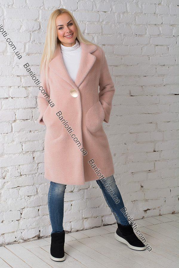 Демисезонное пальто 1769 Пудра