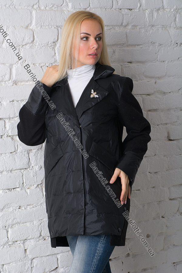 Осенняя куртка ZLYA 18149 (2XL-5XL) Черный