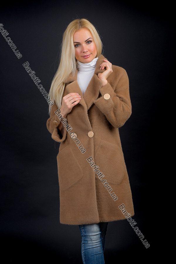 Пальто 6028 Коричневый
