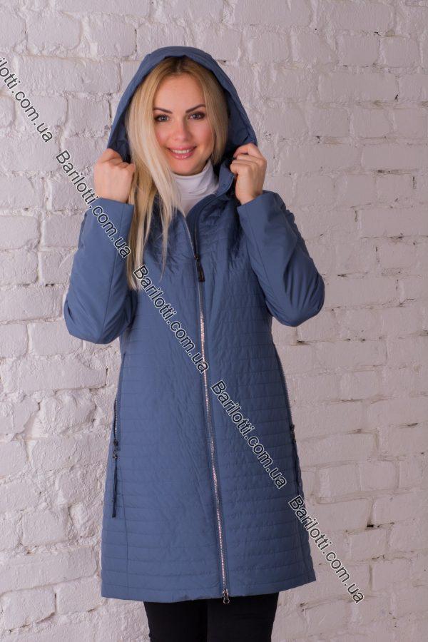 Женское пальто Snow Owl 8645 (S-2XL) Джинс