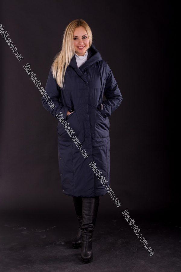 Демисезонное пальто Snow Owl 8105 (L-4XL) Синий