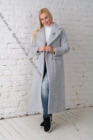 Пальто Chanel Серый