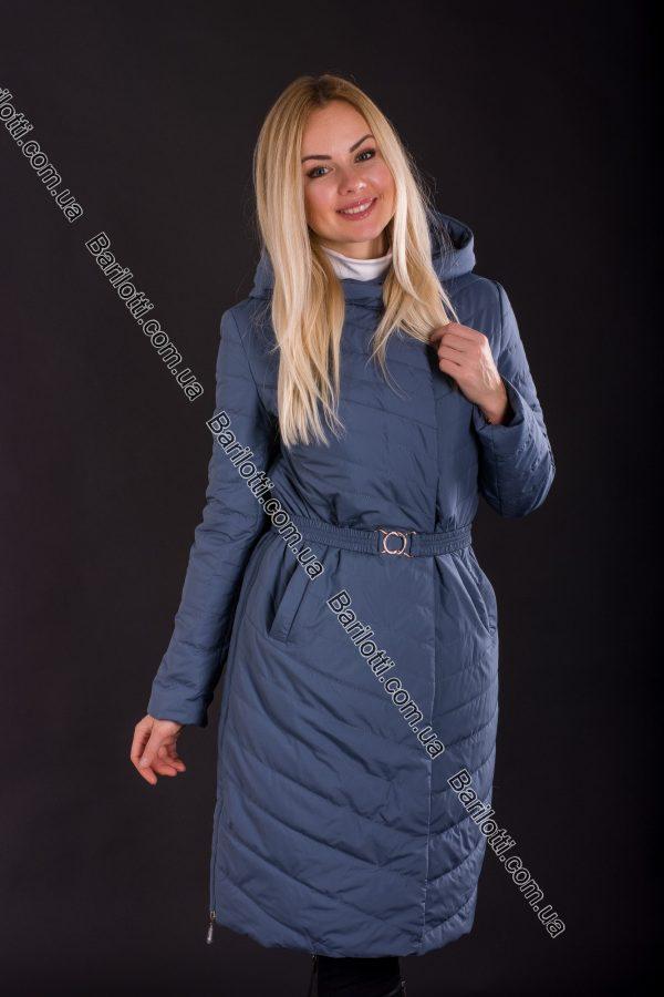 Женское пальто Snow Owl 8410 (S-2XL) Джинс