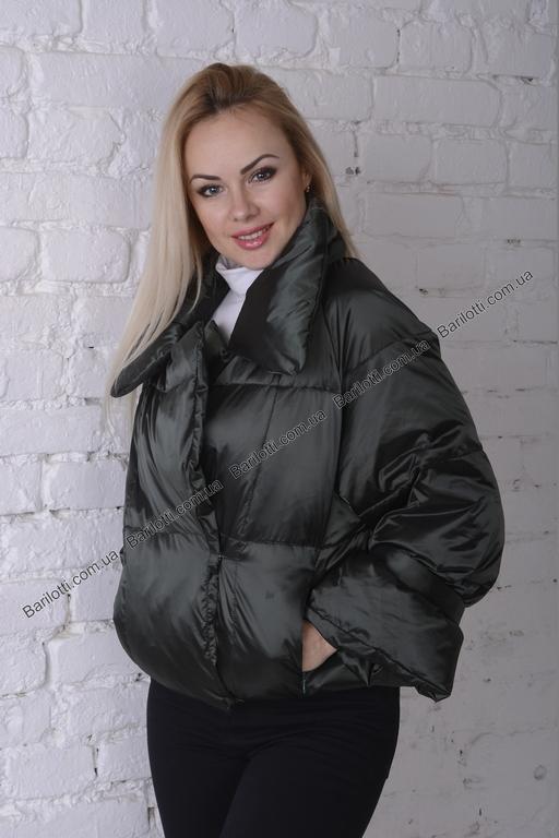 Стильная куртка 8006 Изумруд