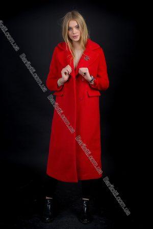 Пальто Chanel Красный