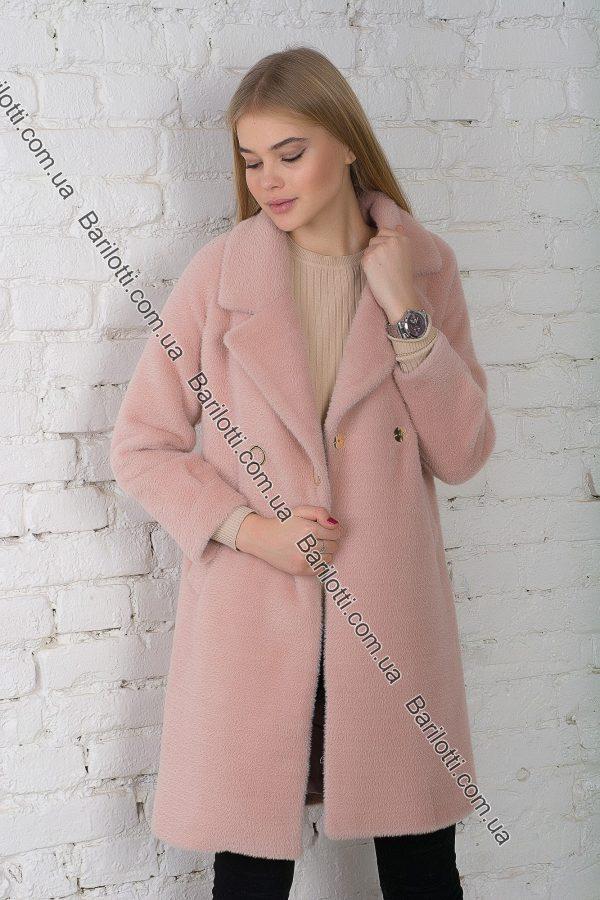 Махровое пальто 1767 Розовый