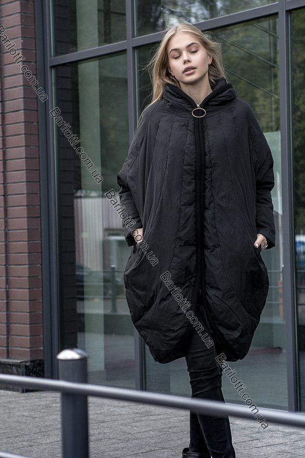 Стильный пуховик-кокон на натуральном пуху для настоящих модниц