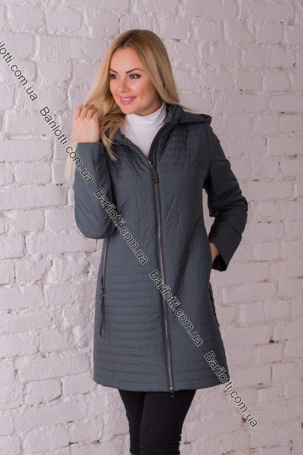 Женское пальто Snow Owl 8645 (S-2XL) Изумруд