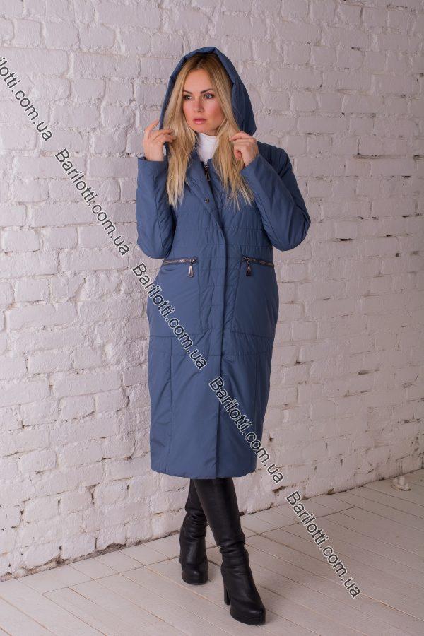Весенне пальто премиум качества Snow Owl 8105 (L-4XL) Джинс