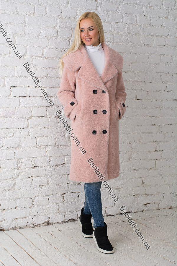 Осеннее пальто 1765 Пудра