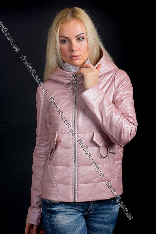 Куртка из экокожи ZLYA 18201 (S-XL) Пудра
